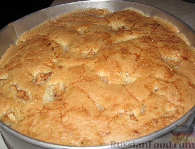 бисквит на шарлотку простой рецепт