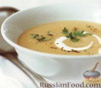 Фото к рецепту: Картофельный суп-пюре с курятиной