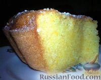 Фото к рецепту: Апельсиновый кекс