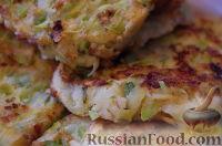 Фото к рецепту: Кабачковые оладьи