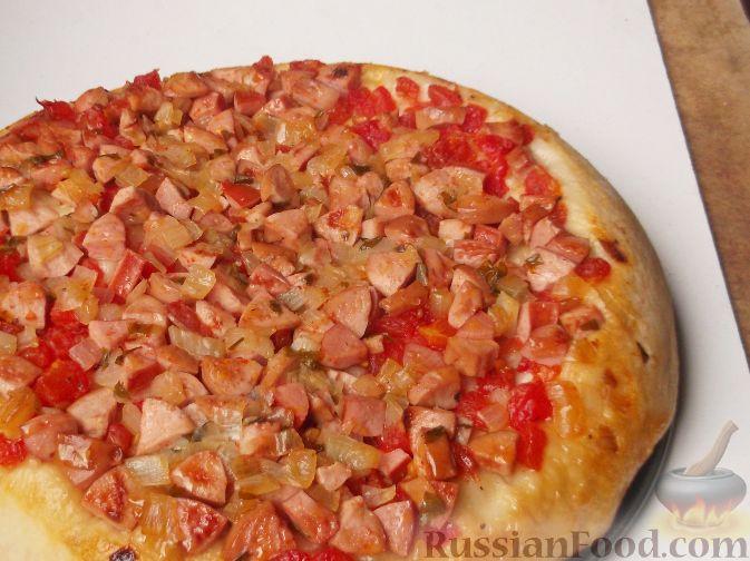 Пицца с сыром - рецепты с фото на Повар. ру (96) 89