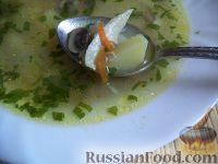 Фото к рецепту: Грибной суп на курином бульоне