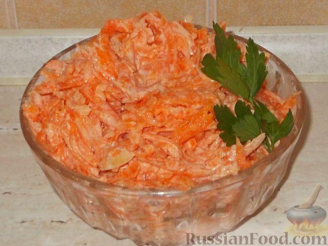 как приготовить салат из моркови сыра чеснока b zqwf