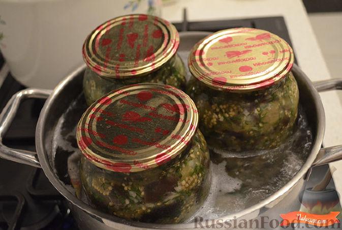 баклажаны на зиму рецепт с фото как грибы