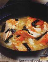 Фото к рецепту: Китайский рисовый суп