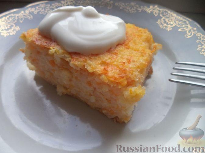 Рецепт запеканки из риса сладкая