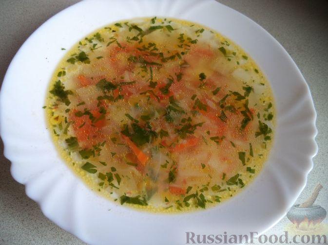 Суп с картошкой морковью и луком