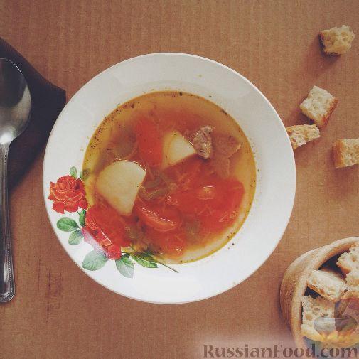 рецепт супа из лопатки