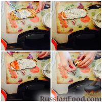 Фото приготовления рецепта: Рулетики из баклажанов - шаг №5