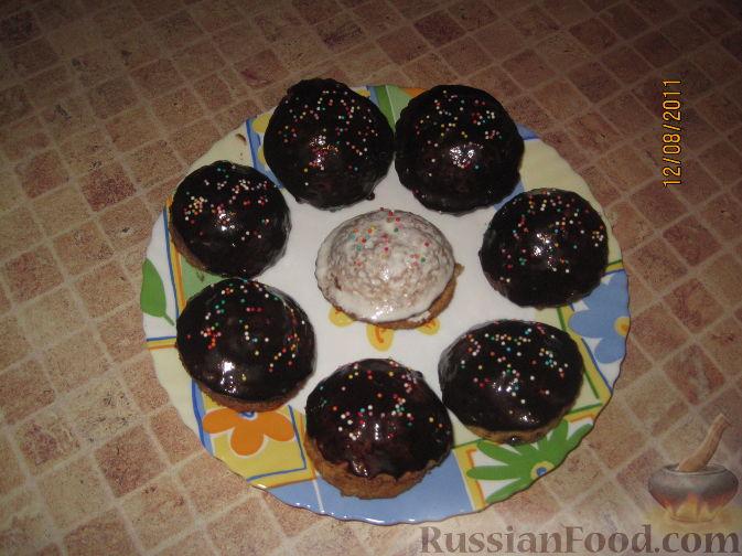 Рецепт Маленькие бисквитные тортики