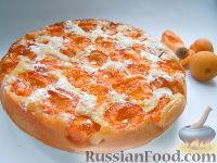 Фото к рецепту: Пирог с абрикосами