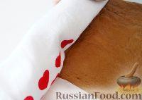 """Фото приготовления рецепта: Кофейный рулет с ликером """"Бейлиз"""" - шаг №9"""
