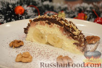 Фото к рецепту: Творожно-банановый десерт