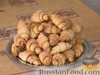 Фото к рецепту: Рогалики с корицей