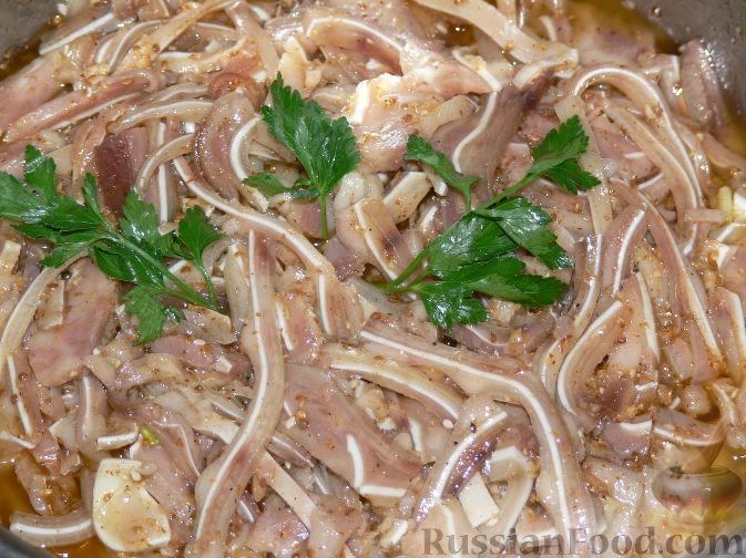 Свиные ушки по корейски рецепт