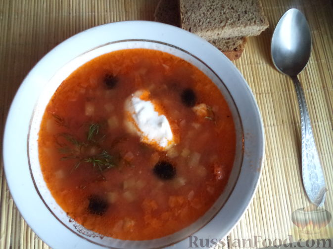 мясная солянка с картофелем рецепт с фото