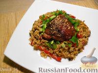 Фото к рецепту: Чоу фан - жареный рис