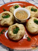 Фото к рецепту: Баоцзы с пекинской капустой