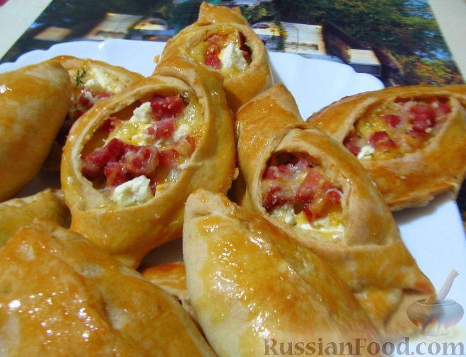 Начинка из колбасы и сыра для пирожков