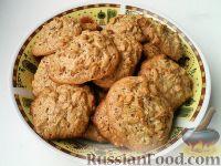 Фото к рецепту: Печенье из овсяных хлопьев