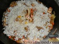 Фото приготовления рецепта: Паэлья с курицей - шаг №2