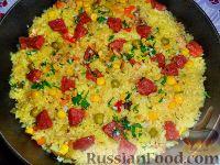 Фото приготовления рецепта: Паэлья с курицей - шаг №5