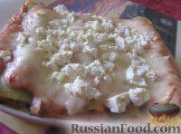 Фото к рецепту: Каннеллони с грибами в сметанном соусе