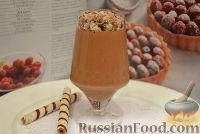 Фото к рецепту: Шоколадно-сливочная панна-котта (Panna cotta)