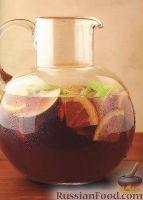 """Напиток """"Сангрия"""" с красным вином"""