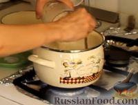 Фото приготовления рецепта: Гурьевская каша - шаг №3