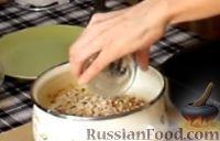 Фото приготовления рецепта: Гурьевская каша - шаг №4