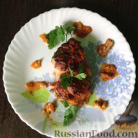 Фото к рецепту: Горбуша, запеченная под сливочно-томатным соусом