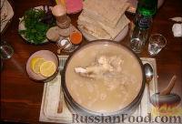 Фото приготовления рецепта: Суп хаш - шаг №9