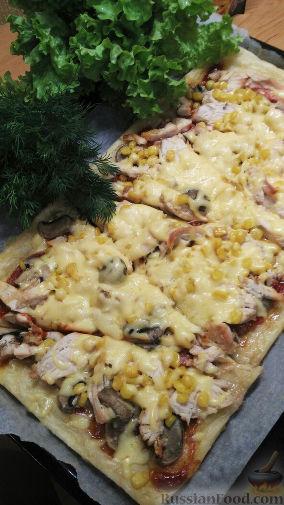 домашнее пошаговое приготовление пиццы