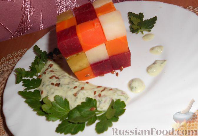 салат вінегрет рубик рецепт