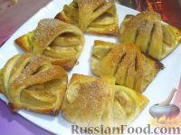 Фото к рецепту: Творожное печенье с яблоками