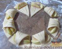 Фото приготовления рецепта: Творожное печенье с яблоками - шаг №6