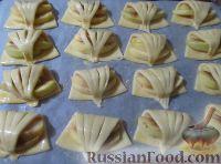 Фото приготовления рецепта: Творожное печенье с яблоками - шаг №7