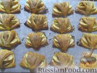 Фото приготовления рецепта: Творожное печенье с яблоками - шаг №9