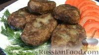 Фото к рецепту: Котлеты из гречки с грибами