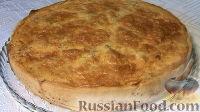 Фото к рецепту: Пирог с грибами и курицей