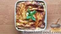 Фото к рецепту: Каннеллони с рикоттой и шпинатом