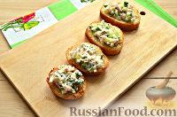 Фото приготовления рецепта: Бутерброды на праздничный стол - шаг №9
