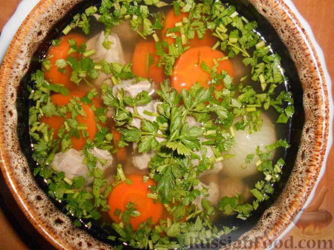 Суп из куриных желудков рецепт пошагово в 69