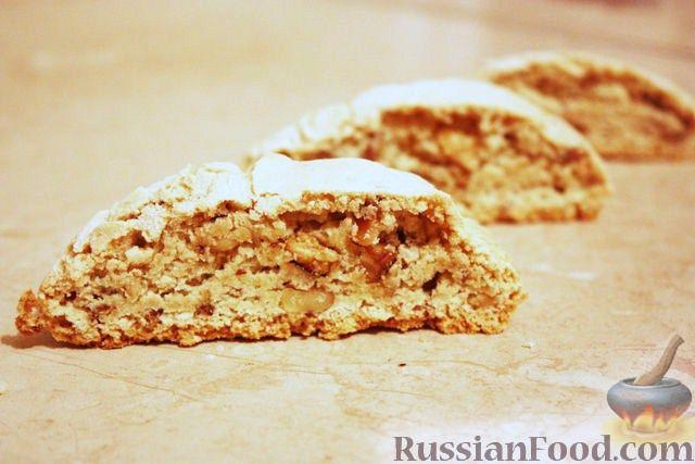 Рецепт Кантуччи (cantucci) с грецкими орехами