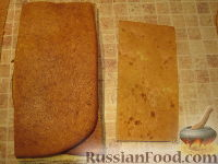 """Фото приготовления рецепта: Торт """"Машинка Маккуин"""" (Тачки) (пошагово) - шаг №8"""
