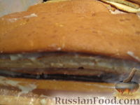 """Фото приготовления рецепта: Торт """"Машинка Маккуин"""" (Тачки) (пошагово) - шаг №10"""