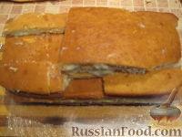 """Фото приготовления рецепта: Торт """"Машинка Маккуин"""" (Тачки) (пошагово) - шаг №12"""