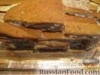"""Фото приготовления рецепта: Торт """"Машинка Маккуин"""" (Тачки) (пошагово) - шаг №14"""