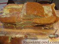 """Фото приготовления рецепта: Торт """"Машинка Маккуин"""" (Тачки) (пошагово) - шаг №17"""